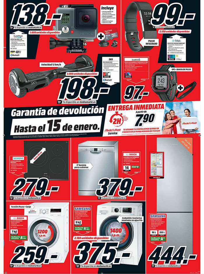 Publicidad Media Markt Black Friday