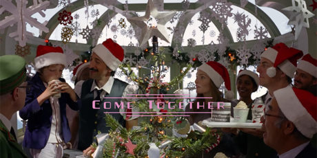 Escena de Come Together, Spot de Navidad de Wes Anderson para HM, Come Toghether