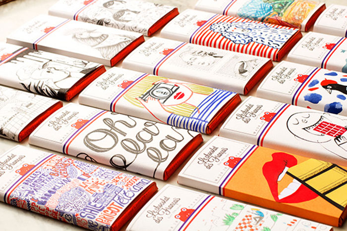 chocolat francaises packaging