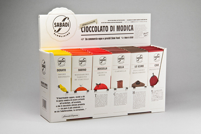 happycentro studio chocolate packaging sabadi