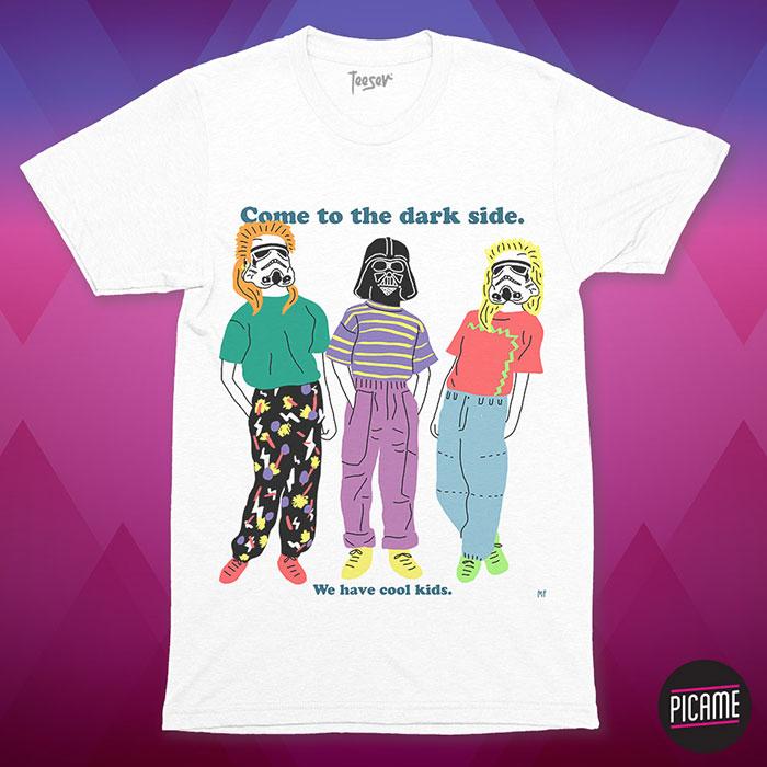 Ganador concurso camisetas ochenteras Picame