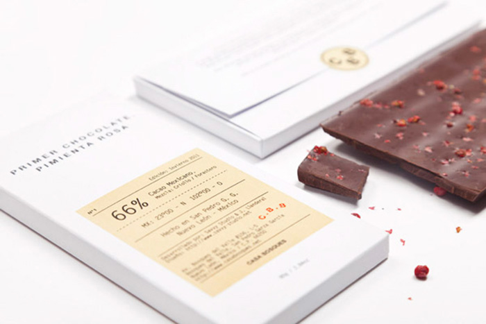 savvy studio chocolate casabosques packaging