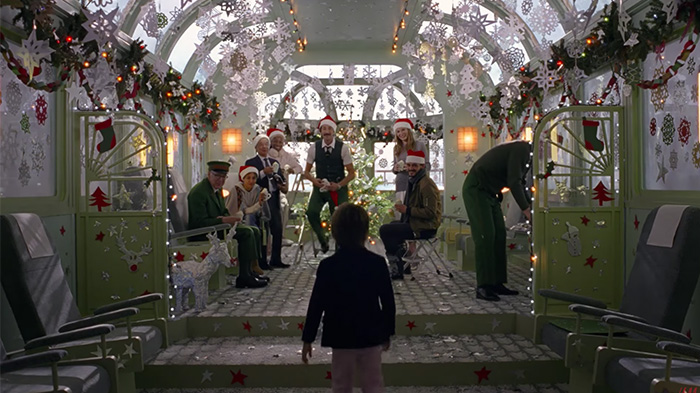 Escena de Come Together, Spot de Navidad de Wes Anderson para HM, Come Toghether