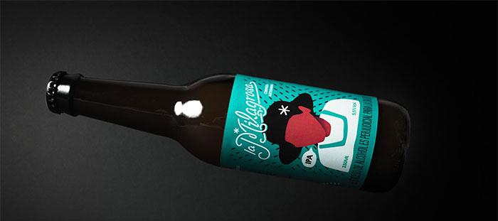 PAckaging para cerveza artesanal La Milagrosa