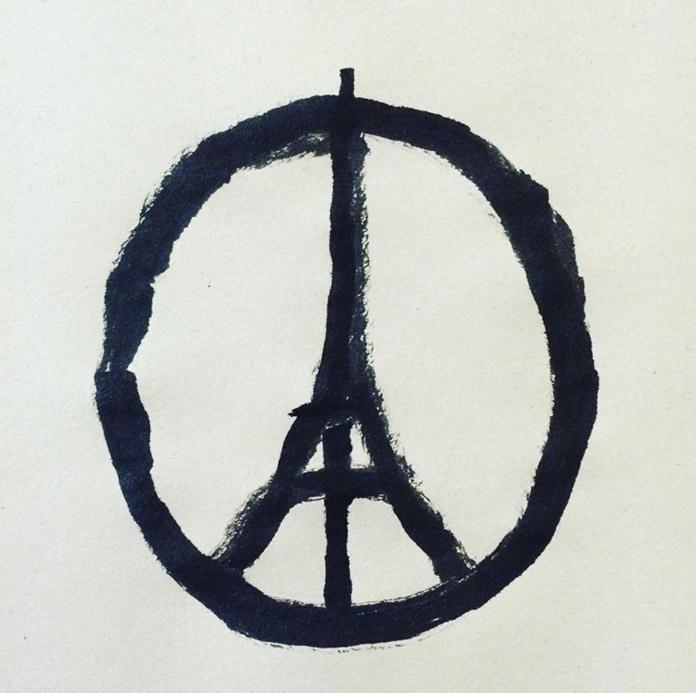 Símbolo de paz para París 2015