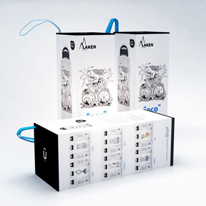 Diseño de packaging para botellas