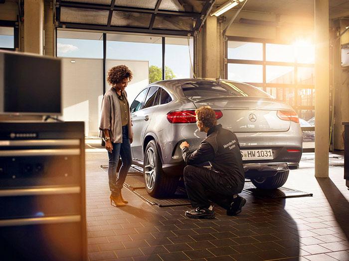 Imagen de redes sociales Mercedes-Benz Alemania
