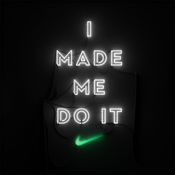 I made me do it | Nike Neón