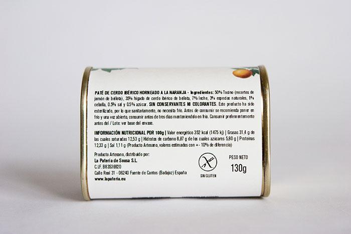 Maria Babia - Diseño de packaging para paté Sousa