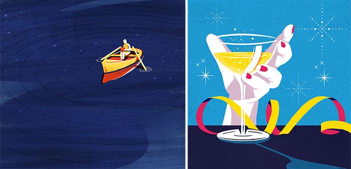 Andressa Meissner - Ilustraciones de la ganadora del concurso de Yorokobu
