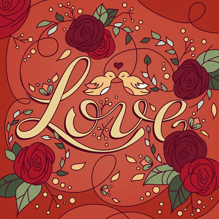 Composiciones y lettering por Andressa Meissner