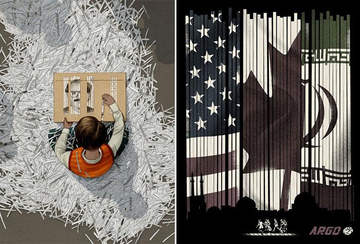Posters alternativos para Argo