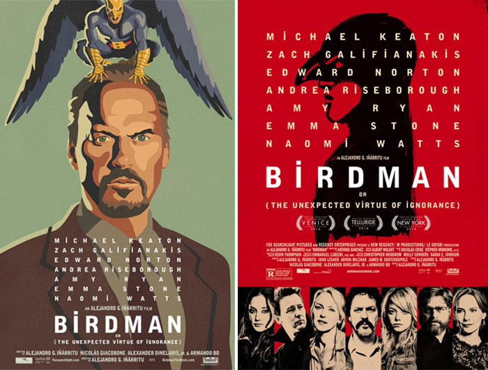 Birdman posters by BLT Communications