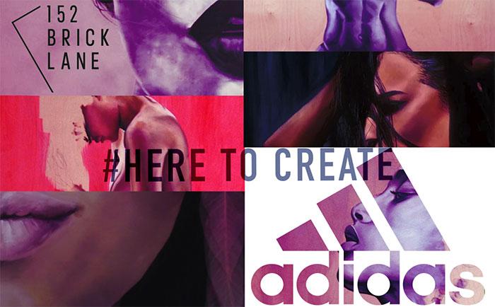 Propuesta para el concurso de Adidas Woman - Here to Create