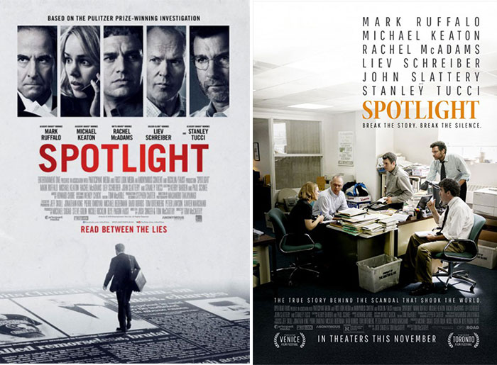 BLT and Empire Design posters for Spotlight
