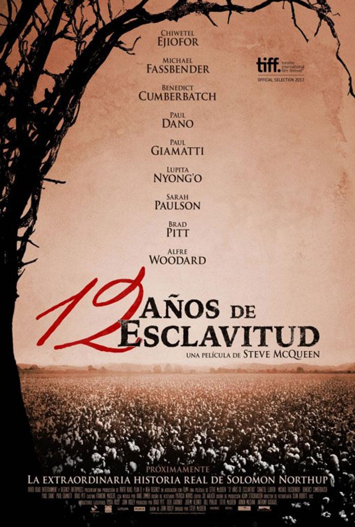 Doce años de esclavitud. Poster