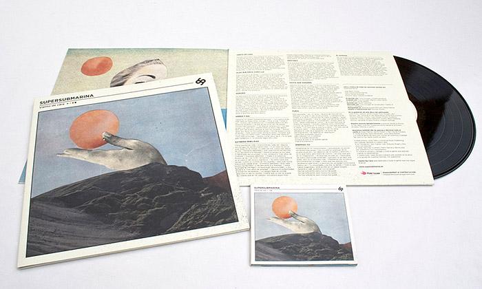 Diseño album de 'Viento de cara'