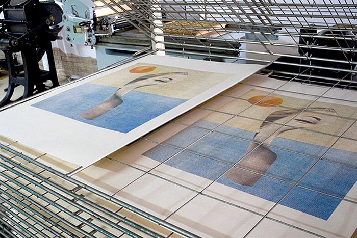 Serigrafía posters Münster Studio
