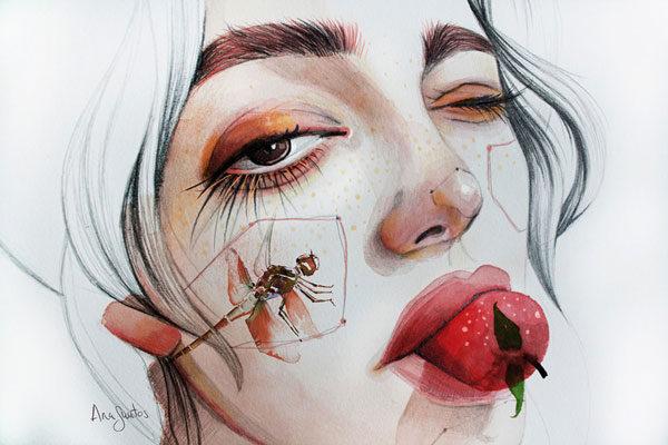 ilustración-acuarela-ana-santos