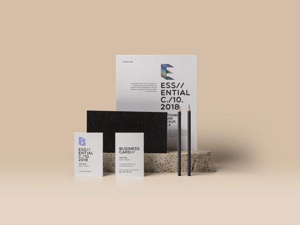 mockup-free-branding-card