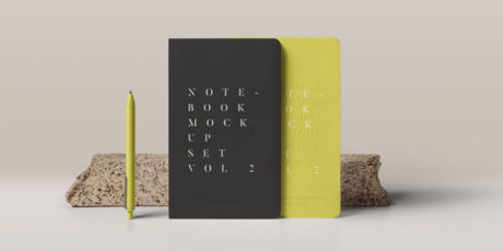 mockup-free-notebooks