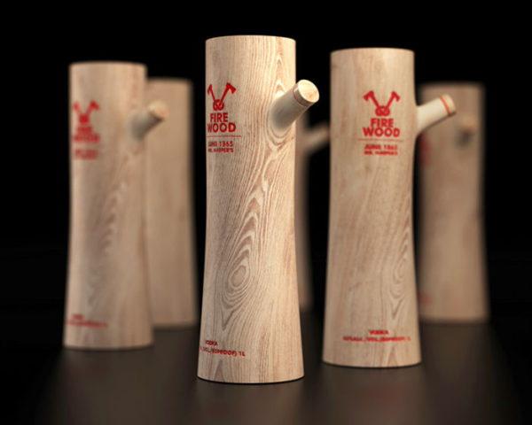 packaging en madera