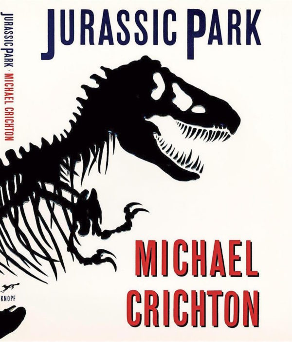 Chip Kidd Jurassic Park portada