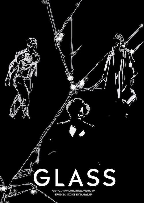 Cartel finalista del concurso de Glass de Sean Powell