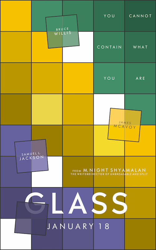 Cartel para el concurso de Glass de Rob Banks