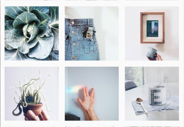 Ejemplo de galería de Instagram