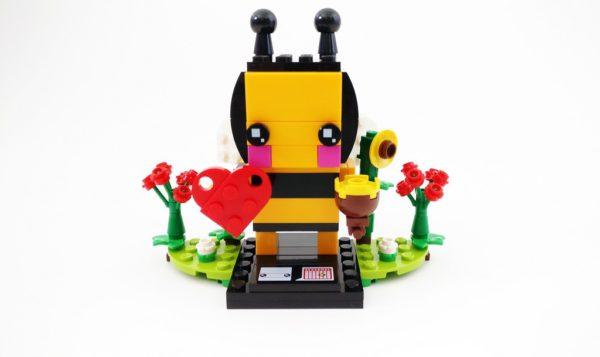 Abeja Lego de San Valentín