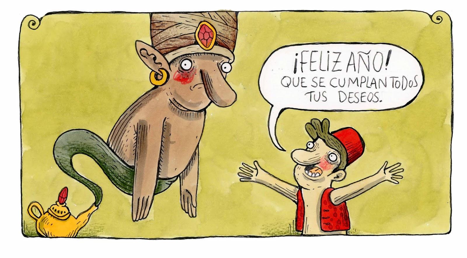 Alberto Montt tiras cómicas