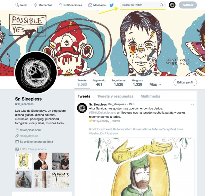 Cómo encontrar el primer Tweet de una cuenta de Twitter