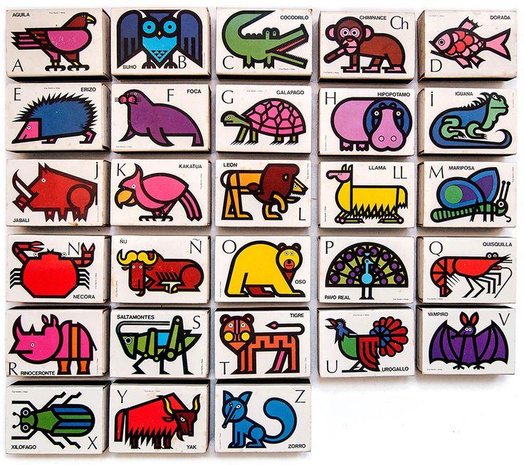 Cruz Novillo Alfabeto Animales