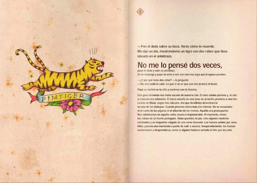 Papá tatuado de Sergio Mora