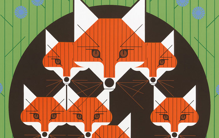 Charley Harper Animal Kingdom Zorro