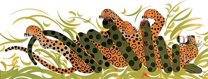Charley Harper Animal Kingdom Tigre