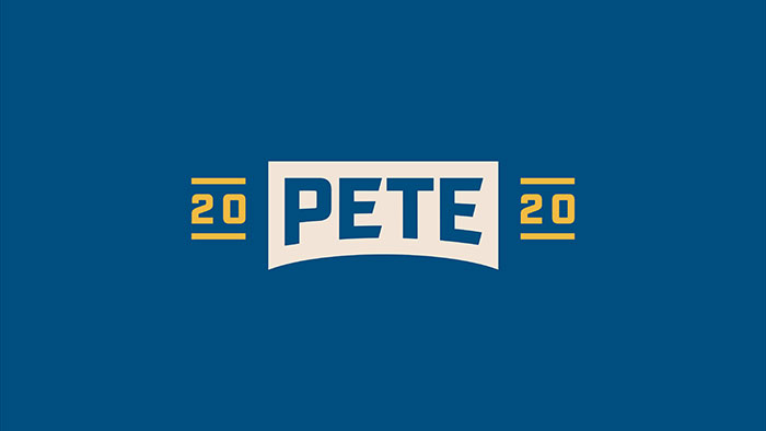 Pete Buttigieg identidad visual