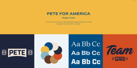 Pete Buttigieg identidad visual