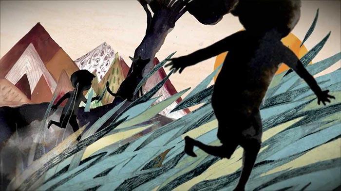 Adolfo Serra la voz del árbol ilustración