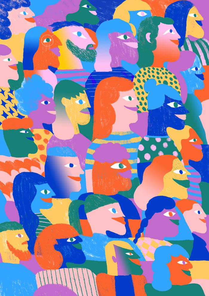 Ilustración Juan-Palarino Concurso diseño EastPak ganadores