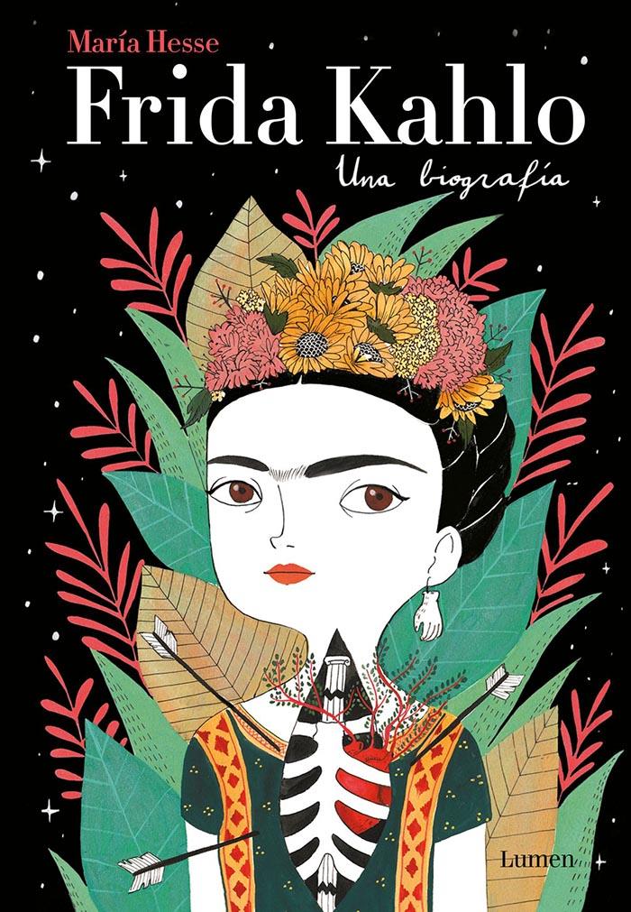 María Hesse Frida Kahlo libros ilustraciones