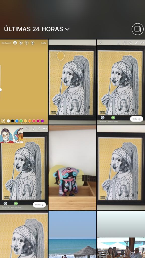 Instagram historias Live Photos Boomerang