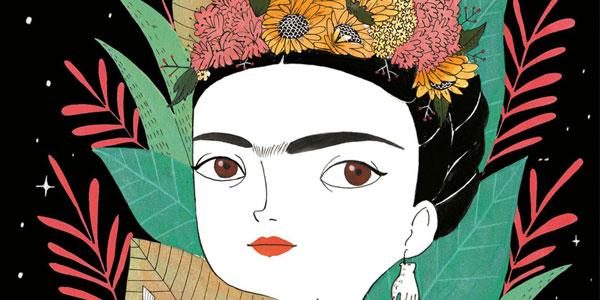 María Hesse, ilustradora del libro Frida Kahlo Una biografía