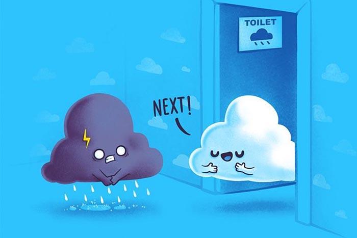 Naolito ilustración Nacho Díaz entrevista Review Benq PD3200U clouds