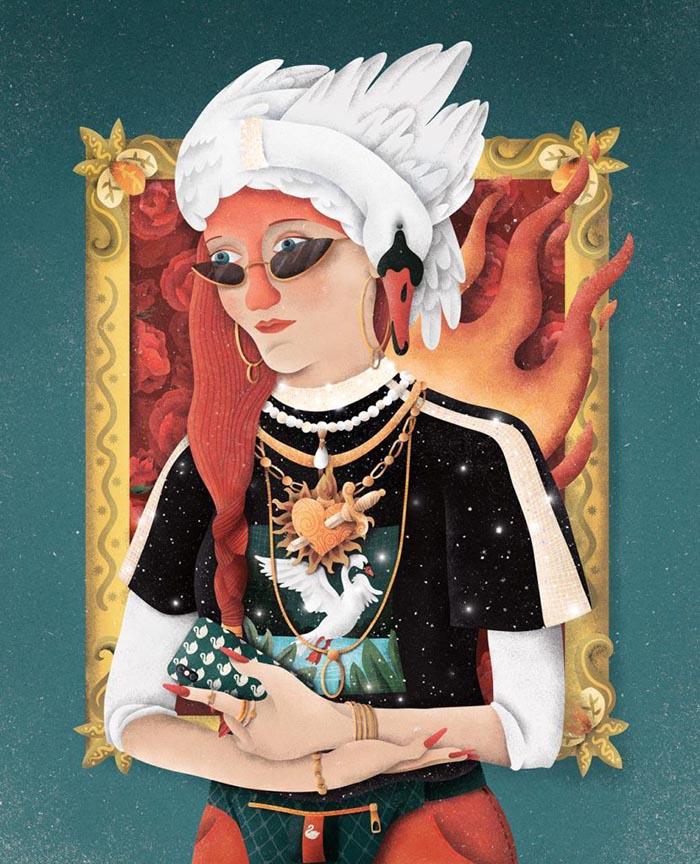 Versiona-Thyssen-concurso-Carlos-Toral-Retrato-de-una-dama-con-la-orden-del-cisne-