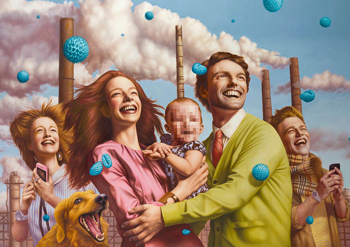 Alex Gross ilustraciones