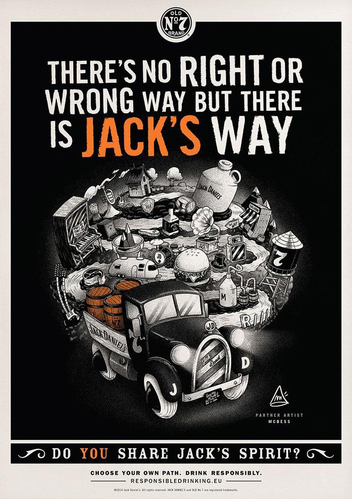 Mc-Bess-ilustracion-Jack-Daniel