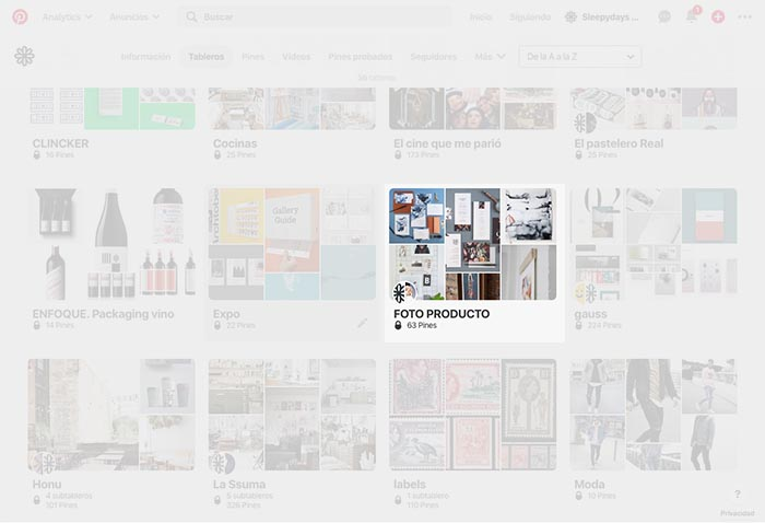 Cómo usar los tableros grupales colaborativos Pinterest