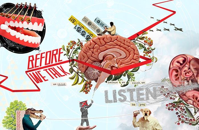 Gabriel Russo collage mejores artistas inspiración